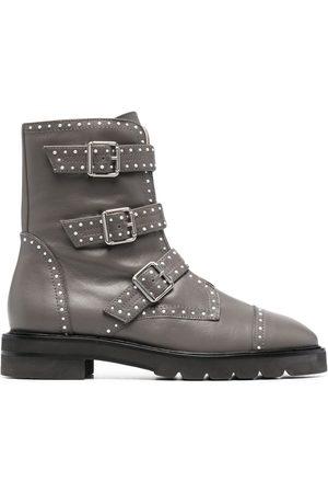 Stuart Weitzman Damen Stiefeletten - Stud-embellished boots