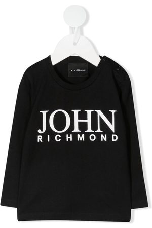John Richmond Junior Logo-print long-sleeved T-Shirt