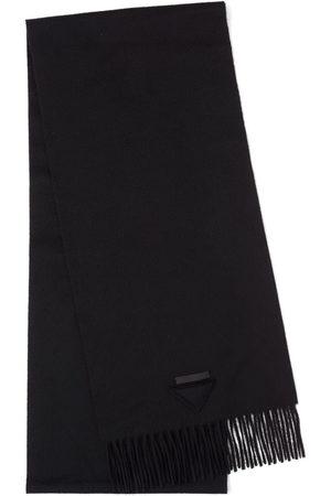 Prada Solid-colour cashmere scarf
