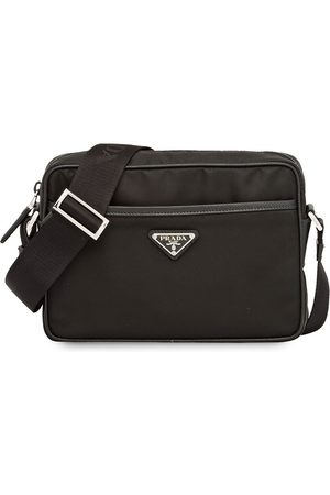 Prada Re-Nylon and Saffiano leather shoulder bag