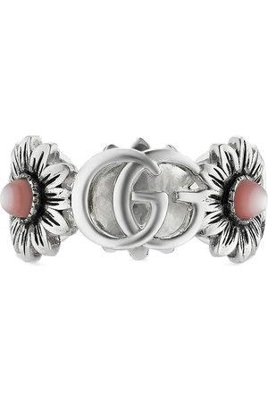 Gucci Herren Ringe - Double G flower ring