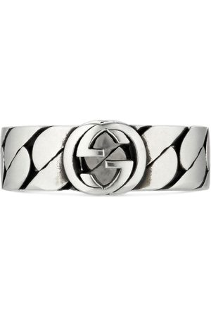 Gucci Herren Ringe - Interlocking G wide ring