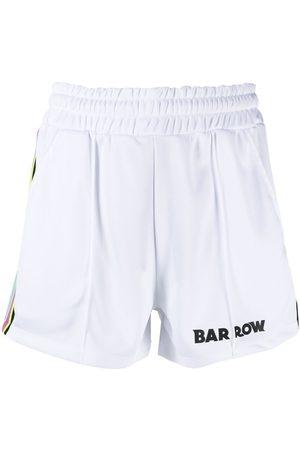 BARROW Logo-embellished jersey shorts