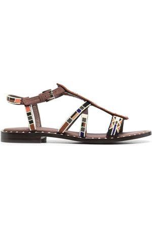 Ash Damen Sandalen - Peaceful bead-embellished sandals