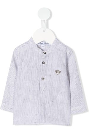 Tartine Et Chocolat Logo embroidered shirt