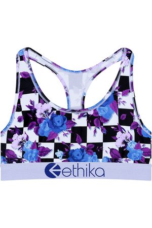 Ethika Damen Sport BHs - Hightop Bloom Sports Bra