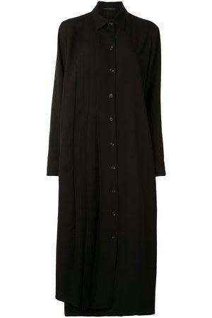 YOHJI YAMAMOTO Hemdkleid mit Falten