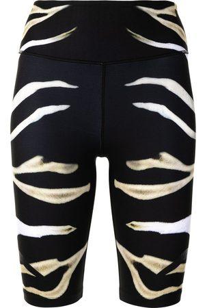 Camilla Shorts mit Zebra-Print