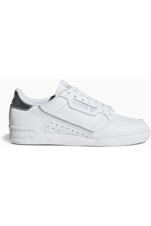 adidas White/silver Continental 80 sneakers