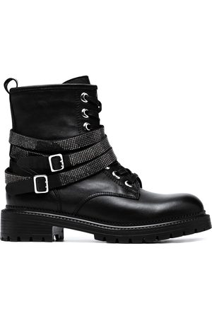 Carvela Lace-up leather boots