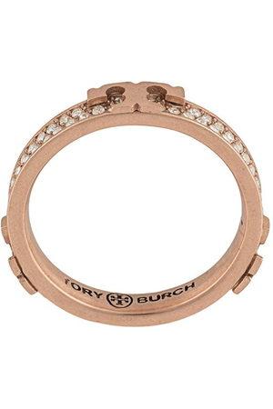 Tory Burch Damen Ringe - Gem-embellished stackable ring