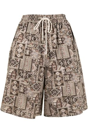 GOEN.J Shorts mit Print - Mehrfarbig