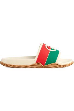 Gucci Damen Clogs & Pantoletten - Interlocking G pool slides