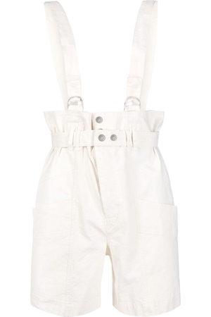 Isabel Marant Effie dungaree shorts