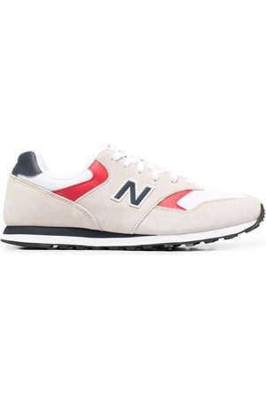 New Balance 393 low-top sneakers - Nude