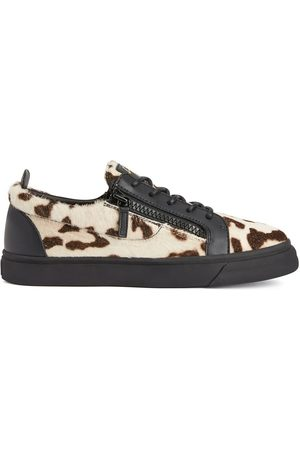Giuseppe Zanotti Frankie animal-print low-top sneakers