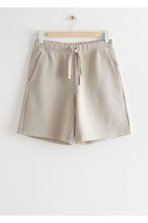 & OTHER STORIES Damen Shorts - Relaxed Drawstring Shorts - Brown