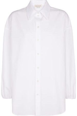 Alexander McQueen Hemd aus Baumwollpopeline