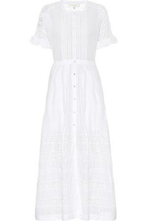 LOVESHACKFANCY Damen Lange Kleider - Maxikleid Edie aus Baumwolle