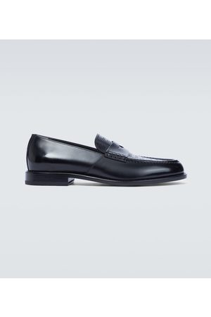 Fendi Halbschuhe - Loafers aus Leder