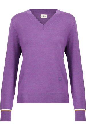 Tory Sport Damen Sweatshirts - Pullover aus Merinowolle