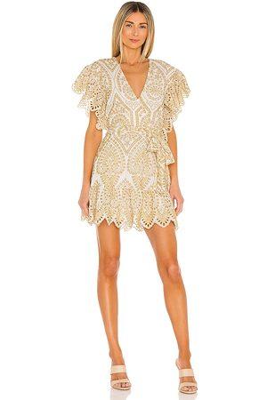 Minkpink Whilma Wrap Mini Dress in . Size S, XS, M.