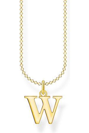Thomas Sabo Halsketten - Halskette - Buchstabe W - KE2032-413-39-L45V