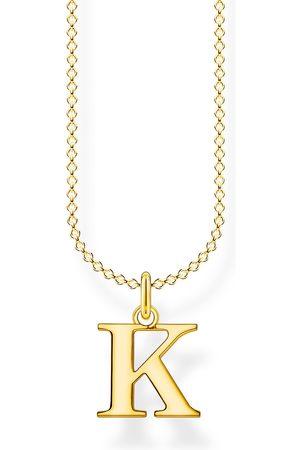 Thomas Sabo Halsketten - Halskette - Buchstabe K - KE2020-413-39-L45V