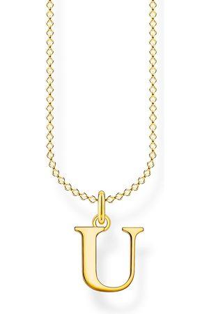 Thomas Sabo Halsketten - Halskette - Buchstabe U - KE2030-413-39-L45V
