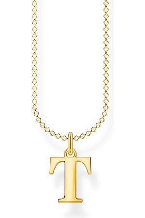 Thomas Sabo Halsketten - Halskette - Buchstabe T - KE2029-413-39-L45V