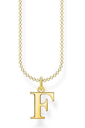 Thomas Sabo Halsketten - Halskette - Buchstabe F - KE2015-413-39-L45V