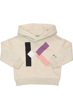 Kenzo Kapuzensweatshirt Aus Baumwolle Mit Logodruck