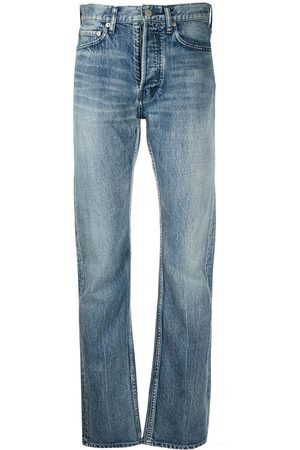 AMBUSH Damen Baggy & Boyfriend - Halbhohe Straight-Leg-Jeans