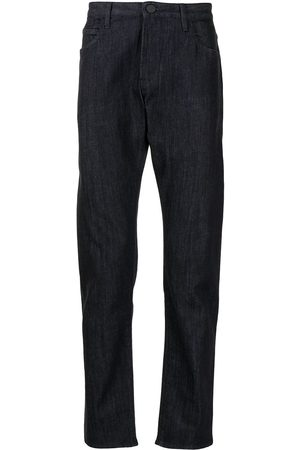 Armani Straight-leg cotton jeans - UBUL BLU DENIM SCURO