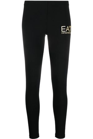 EA7 Logo print leggings