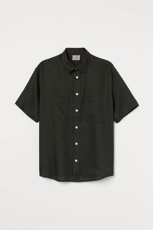 H&M Leinenhemd Relaxed Fit