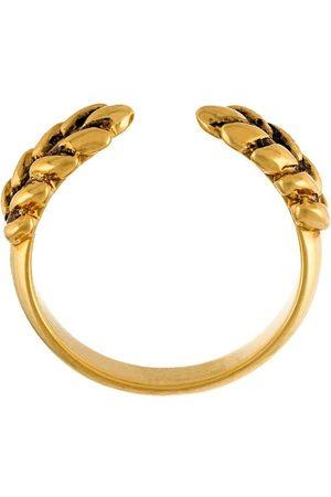 Aurélie Bidermann Damen Ringe - 18kt vergoldeter 'Wheat' Ring - Metallisch