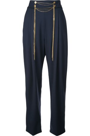 Oscar de la Renta Damen Hosen & Jeans - Hose mit hohem Bund