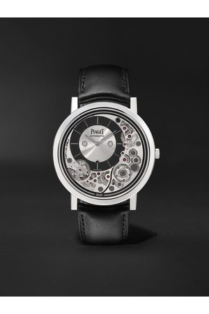 PIAGET Herren Uhren - Altiplano Ultimate Automatic 41mm 18-Karat White Gold and Leather Watch, Ref. No. G0B43121