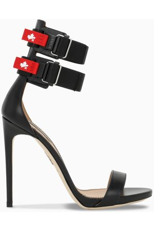 Dsquared2 Black sandals with straps