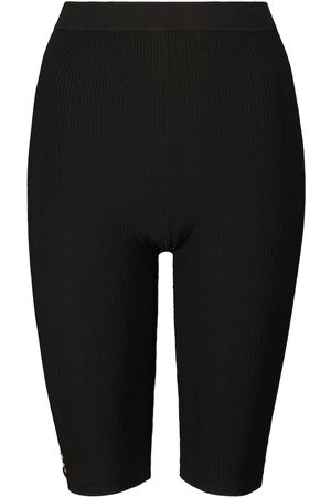 Saint Laurent Damen Shorts - Shorts aus Rippstrick