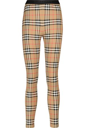 Burberry Leggings Vintage Check