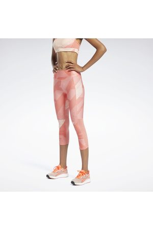 Reebok Run Essentials Allover Print 3/4 Leggings