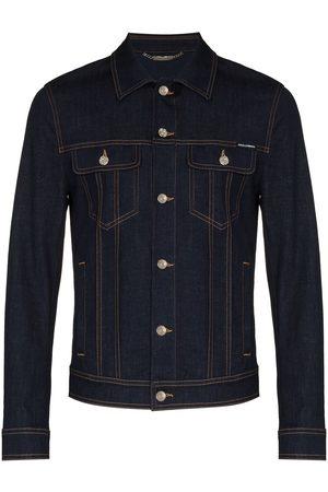 Dolce & Gabbana Herren Jeansjacken - Button-up denim jacket