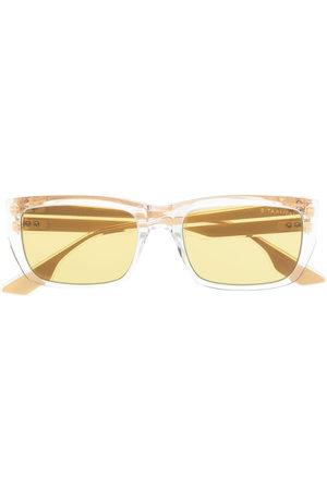 DITA EYEWEAR Sonnenbrillen - Alican square-frame sunglasses - Nude