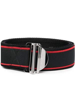 Alexander McQueen Logo-print belt