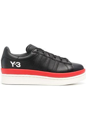 Y-3 Logo-print flatform sneakers