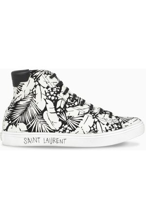 Saint Laurent Malibu-print sneakers