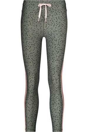 The Upside Bedruckte Cropped Leggings Teeny