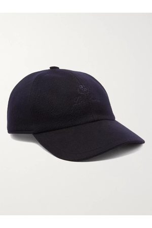 Loro Piana Logo-Embroidered Storm System Baby Cashmere Baseball Cap